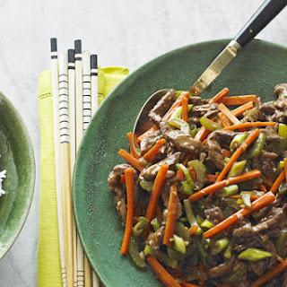 Szechuan Shredded Beef Stir-Fry