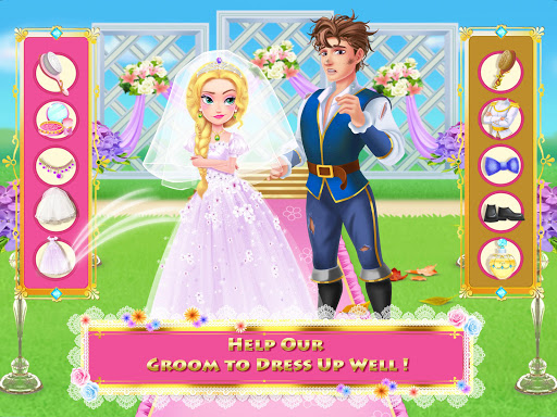 Long Hair Princess 4 - Happy Wedding 1.3 screenshots 11