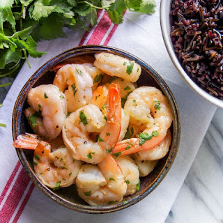 10 Minute Cilantro Lime Shrimp