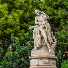 by William Stansbury - Artistic Objects Other Objects ( woman, greece, statue, sculpture, athens,  )
