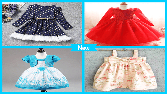 Baby Frock Designs - náhled