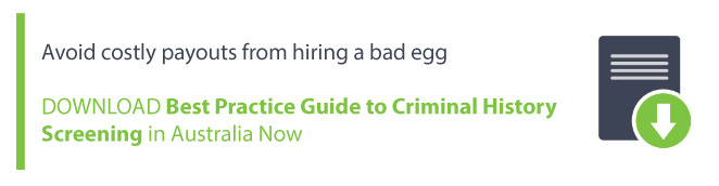 employers do not normally conduct police checks on existing employees if there is no inherent risk to a specific role