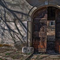 La porta del convento di