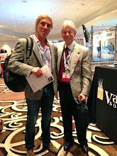 Photo: El Dr. Azpiazu con el Dr. Nick Morrison (Director Médico del Morrison Vein Institute )