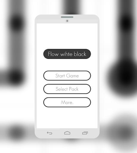 flow white black free