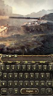 Tank keyboard theme - náhled