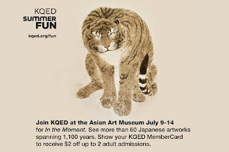 Photo: Join KQED at the Asian Art Museum July 9-14 for In the Moment. See more than 60 Japanese artworks spanning 1,100 years. Show your KQED MemberCard to receive $2 off up to 2 adult admissions.