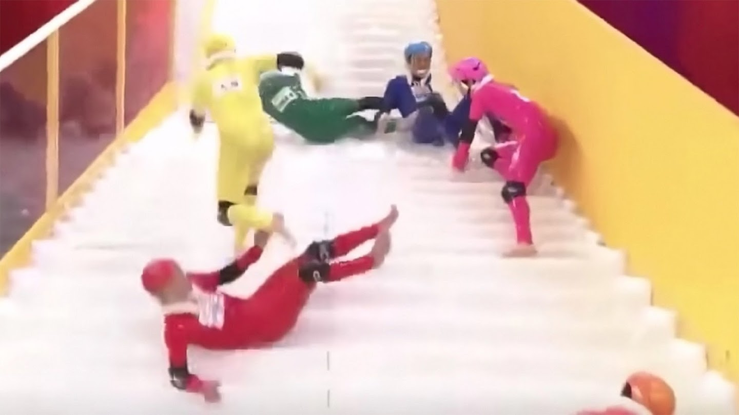 Watch Slippery Stairs live