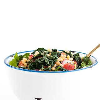 Warm Couscous Kale Salad.
