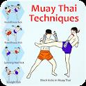 Muay Thai Techniques Training icon