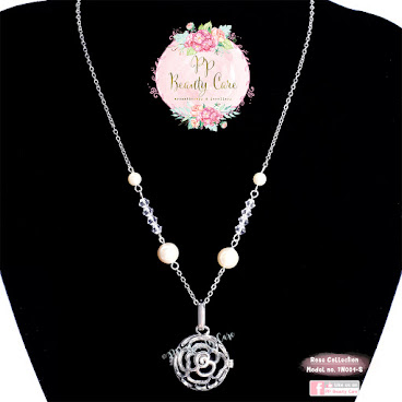 Rose Collection No.7N001-S swarovski necklace