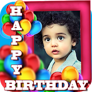 Birthday Greeting Cards Maker: Create photo frames‏