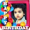 Birthday Greeting Cards Maker: Create photo frames