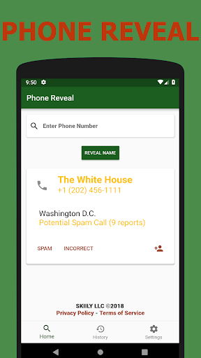 Phone Reveal by Skiily LLC (Google Play, United States
