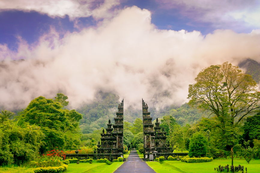 6 Best Places to Visit in Asia in 2020 featured by top travel blog, The Common Traveler: image of temple in Bali, Indonesia