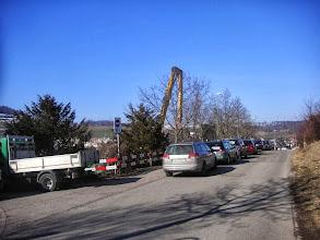 Photo: Parkplätze sind rar!