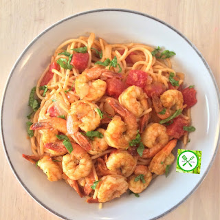 Shrimps Scampi with Pasta Recipe