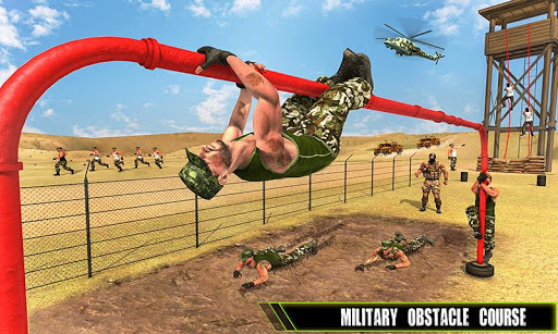 us army training school game: obstacle course race screenshot 2