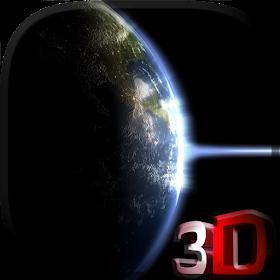 Земля и свет, видео живые обои