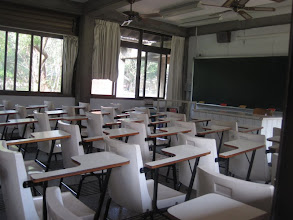 Photo: Tunghai University Classroom_ nice breeze