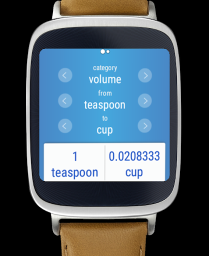 Unit Converter Android Wear