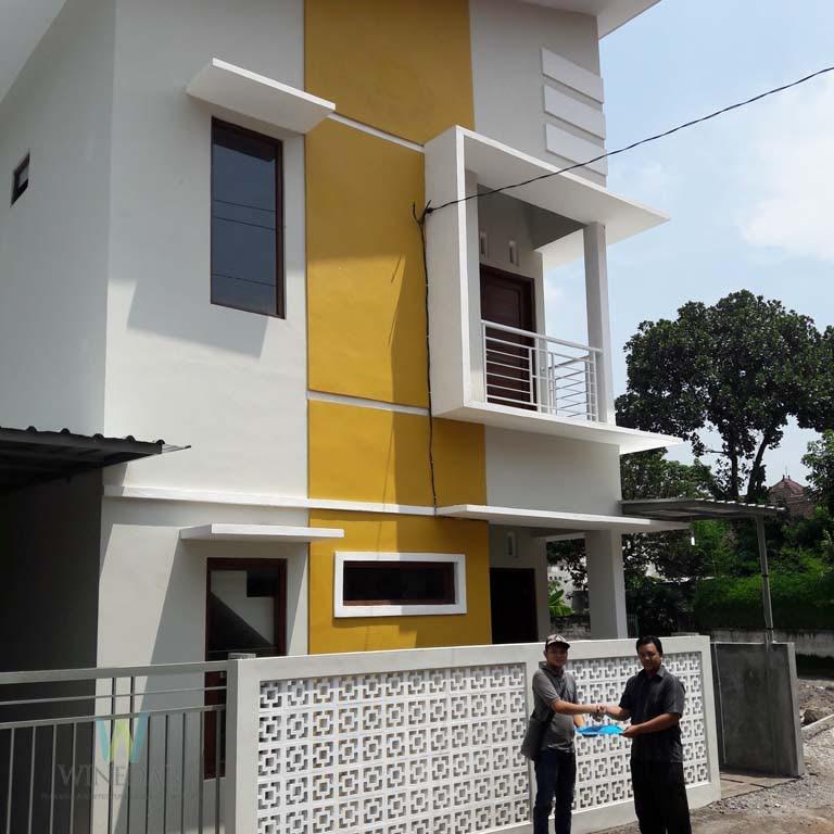 Rumah 2 Lantai Desain Modern Minimalis