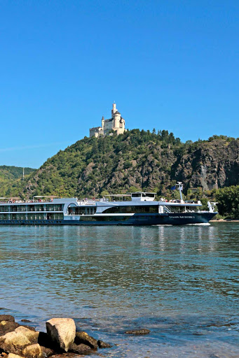 Avalon-Artistry-II-Rhine - See Marksburg Castle on the Rhine on a river cruise aboard Avalon Artistry II.