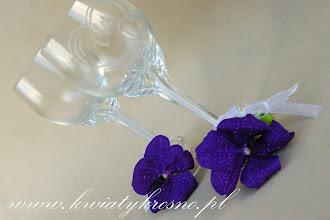 Photo: Dekoracja kielichów żywymi kwiatami
