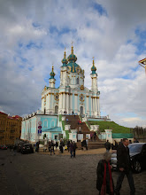 Photo: Kiev contains beautiful cathedrals and monasteries from the 13th century.