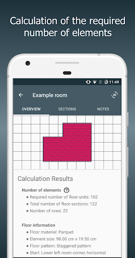 Floor Calculator: Plan & install flooring Apk 2