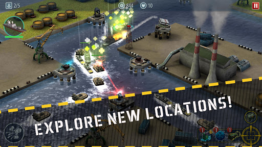 Naval Rush: Sea Defense  screenshots 2
