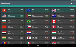 Screenshot of 1 Leu | RON Exchange Rates