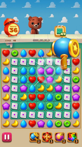 Toy Bear Sweet POP : Match 3 Puzzle apkpoly screenshots 16