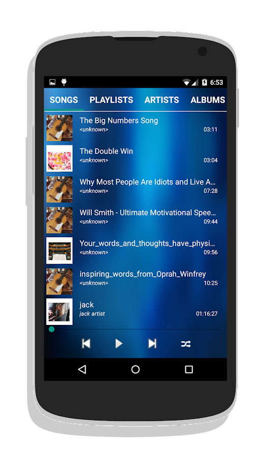 how to add music to play music app