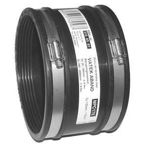 Övergångskopplingar raka 50-165 mm