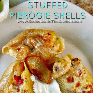 #SundaySupper Stuffed Pierogie Shells