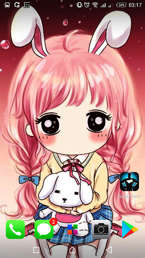 Download Kawaii Cute Wallpapers Background Images Google Play