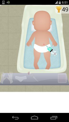 赤ちゃんの注射ゲーム2