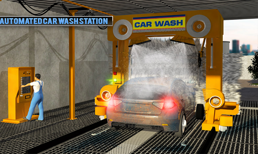 Smart Car Wash Service: Gas Station Car Paint Shop android2mod screenshots 3