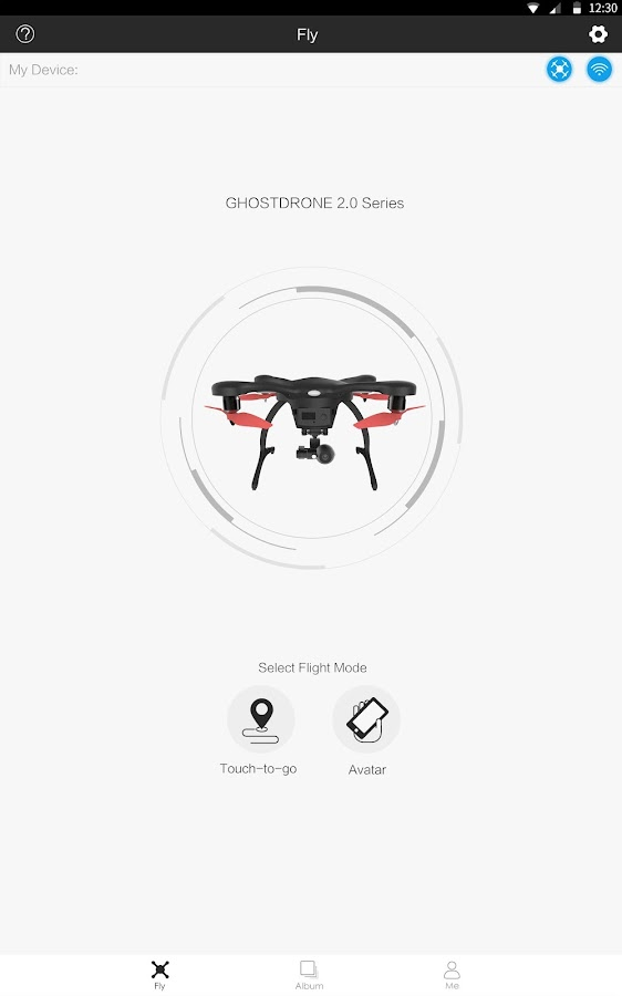 EHANG Play--for GHOSTDRONE 2.0- screenshot