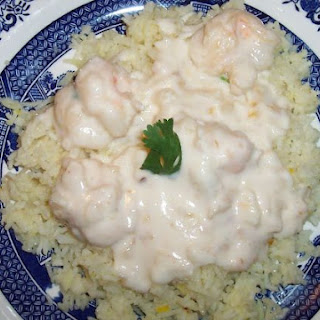 Shrimp in Coconut Souce