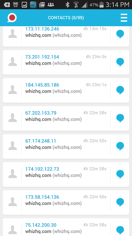PopChat- screenshot