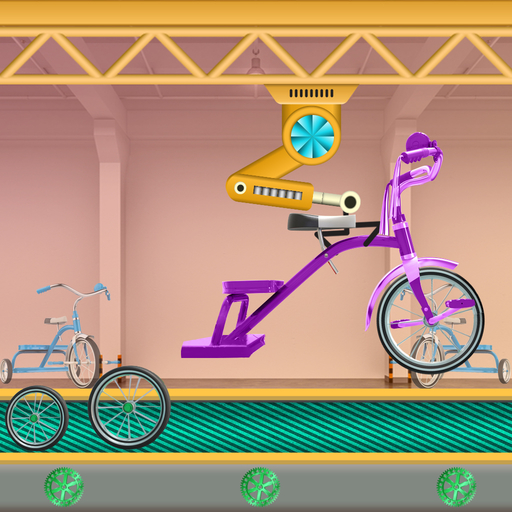 Tricycle Making Factory: Cycle Builder Simulator