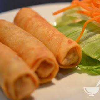 Description Vietnamese Spring Rolls with Pork, Crab and Shrimp.
