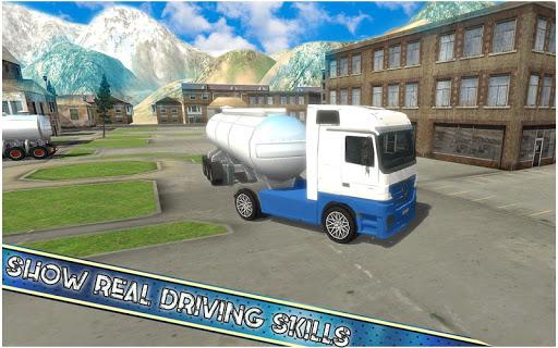 américain euro un camion Simulateur Jeux  captures d'écran 3