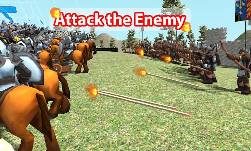 Medieval Wars: Hundred Years War 3D 1.3 screenshots 3