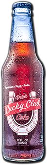 Logo for Excel Bottling Lucky Club Cola