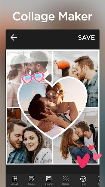 Collage Maker Pro - Photo Collage Android App Screenshot