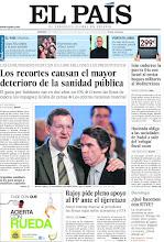 Photo: Los efectos de los recortes en la sanidad pública española; Irán endurece la guerra fría con Israel; el congreso del PP, y la información previa a los Goya 2012, en nuestra portada del domingo 19 de febrero http://www.elpais.com/static/misc/portada20120219.pdf