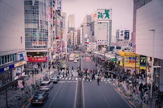 Photo: Crossing Shinjuku
